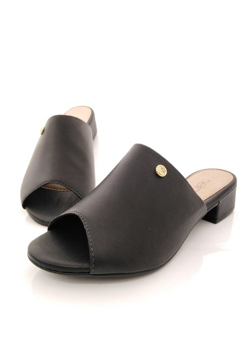 Calzado negro casual para dama