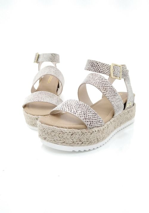 Sandalias para dama