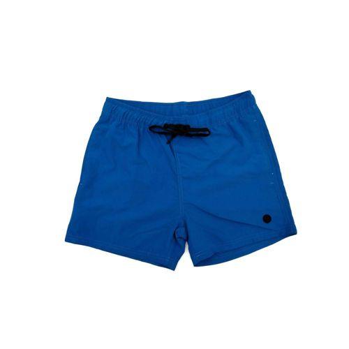 Bermuda playera azul