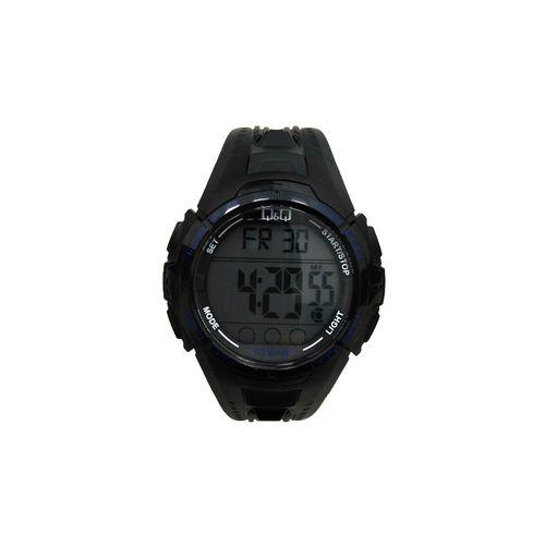 Reloj digital deportivo negro