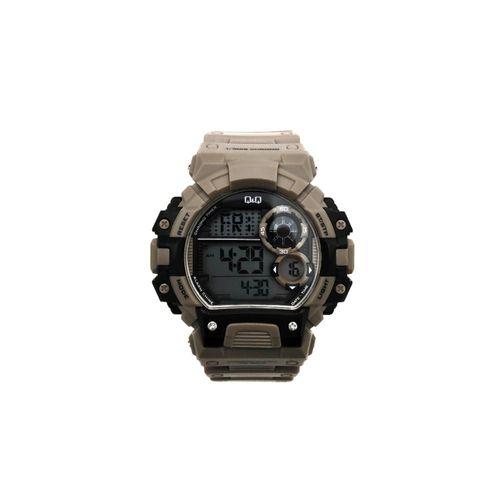 Reloj digital deportivo gris