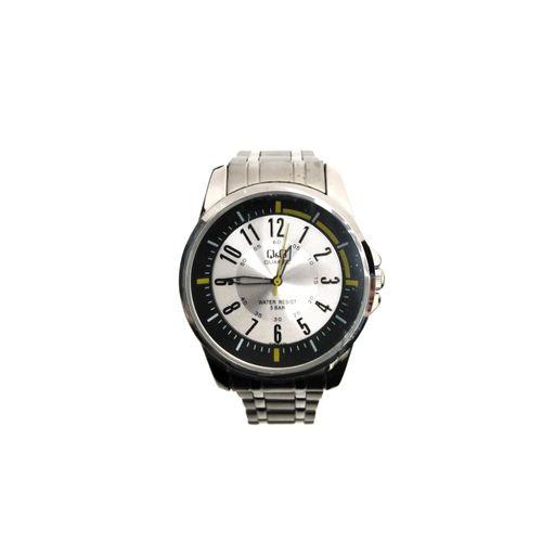 Reloj análogo de metal
