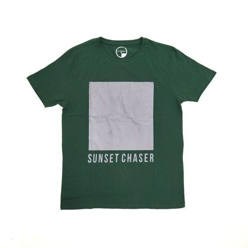 Camiseta sunset chaser verde aceituna