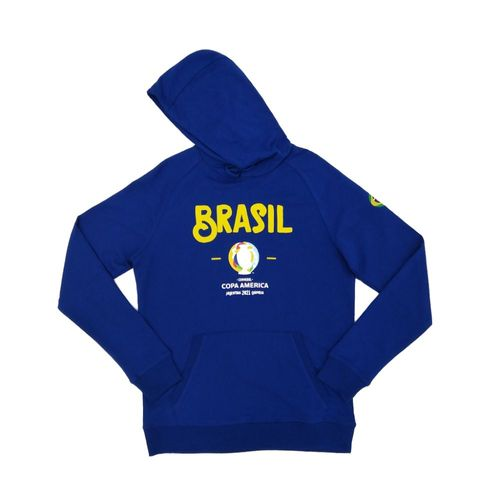 Sudadera azul Brasil