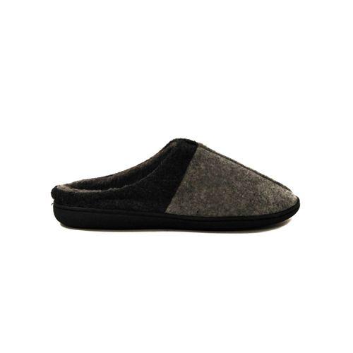 Pantuflas slippers Negro gris