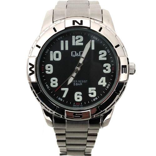 Reloj análogo metálico para caballero