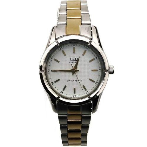 Reloj análogo metálico para dama