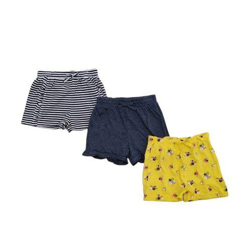 Set de 3 shorts estampados