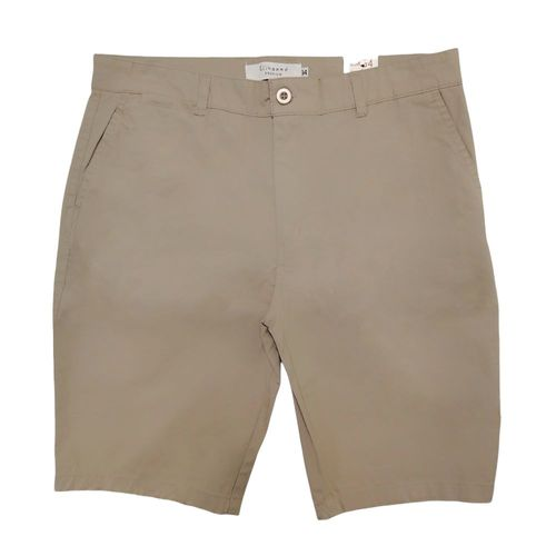 Short slim fit beige