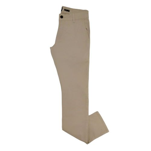Pantalón stretch fit taupe