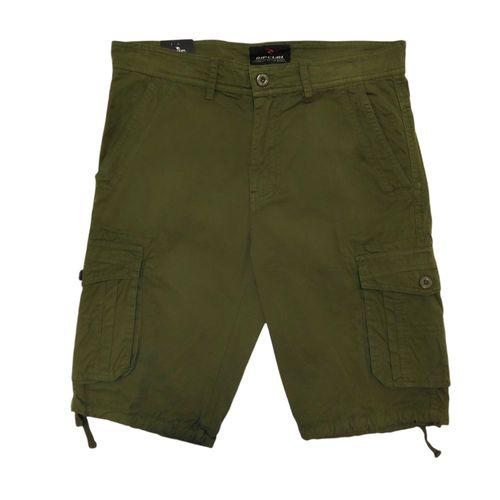 Shorts cargo verde olivo