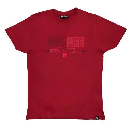 Camiseta estampado central