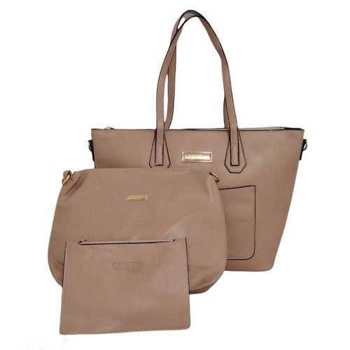 Set de bolsos sólidos