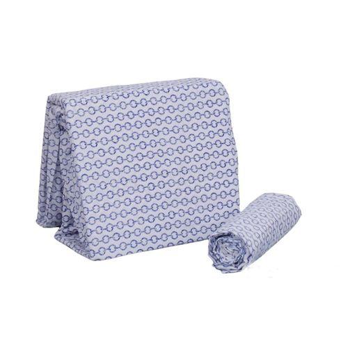 Set de sábanas king azul
