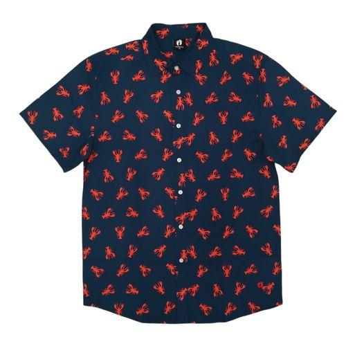 Camisa casual estampado marino
