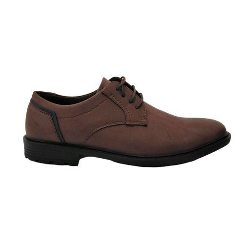 Zapatos casuales derby café/negro